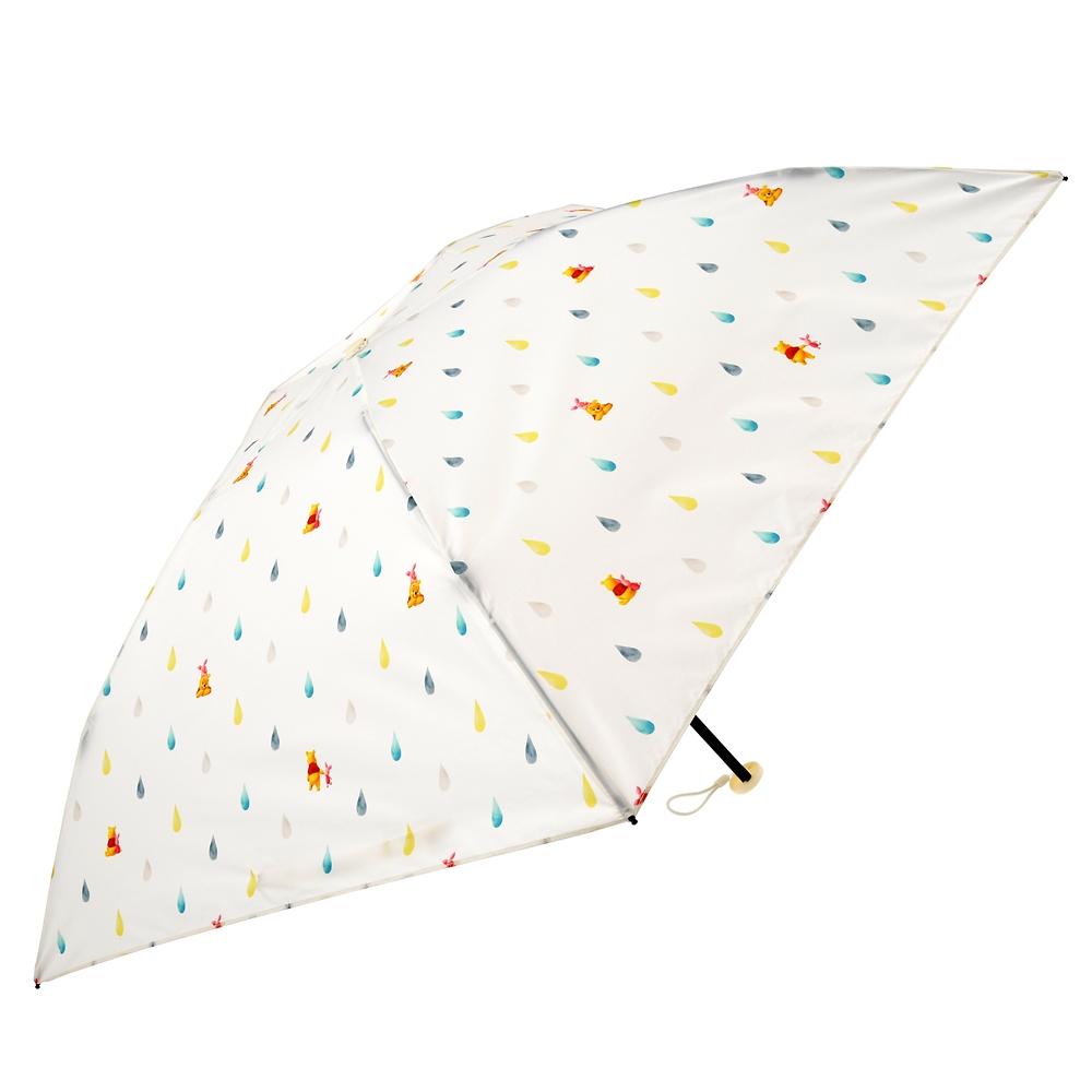 【Wpc.】プーさん&ピグレット 傘 折りたたみ式 Rainy Day 2020