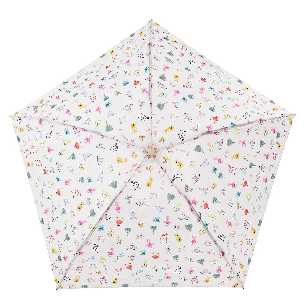 【Wpc.】ふしぎの国のアリス 傘 折りたたみ式 suisai icon Rainy Day 2020