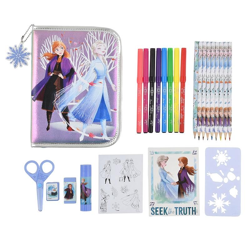アナと雪の女王2 ステーショナリーセット ジップケース