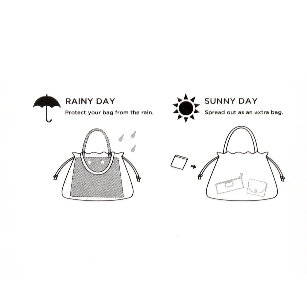 【Wpc.】ドナルド バッグカバーバッグ リーフ柄 Rainy Day 2020