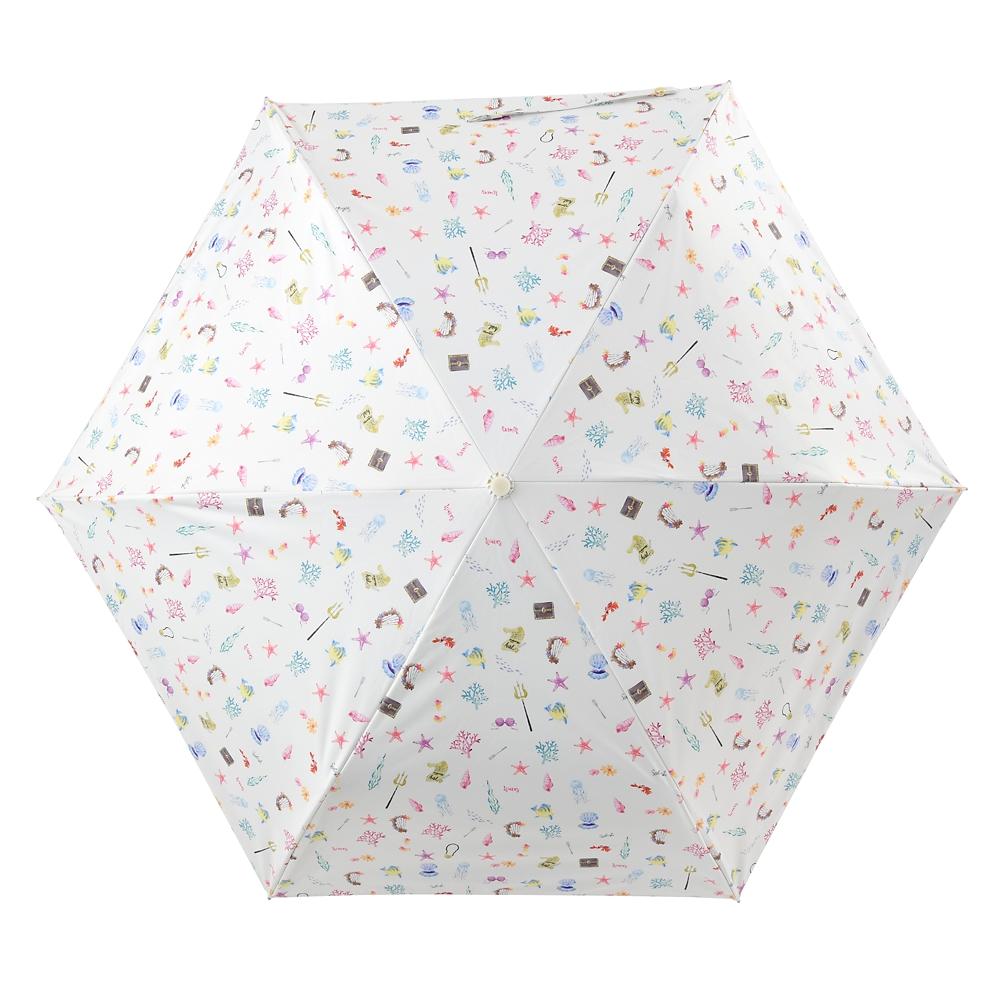 【Wpc.】リトル・マーメイド 日傘 折りたたみ式 ポーチ付き suisai icon Rainy Day 2020
