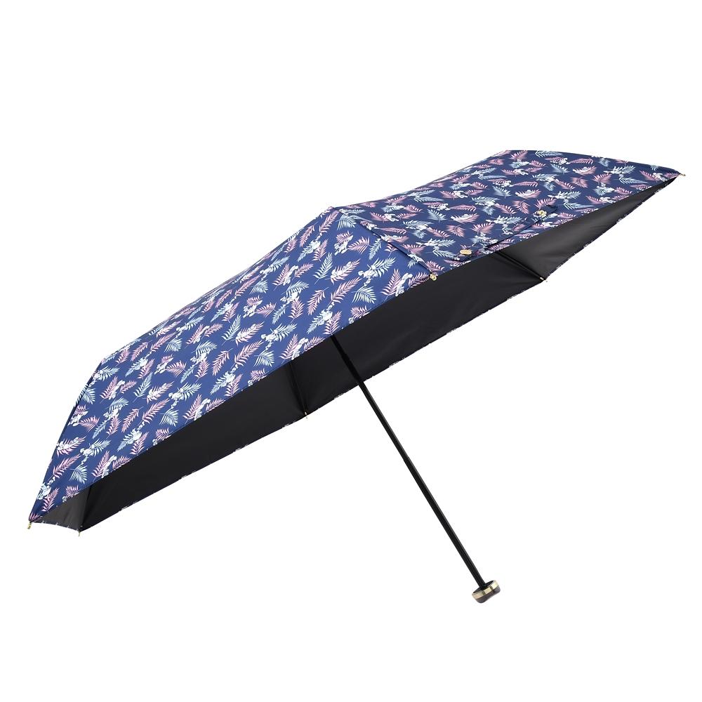 【Wpc.】ドナルド 日傘 折りたたみ式 リーフ柄 ポーチ付き Rainy Day 2020