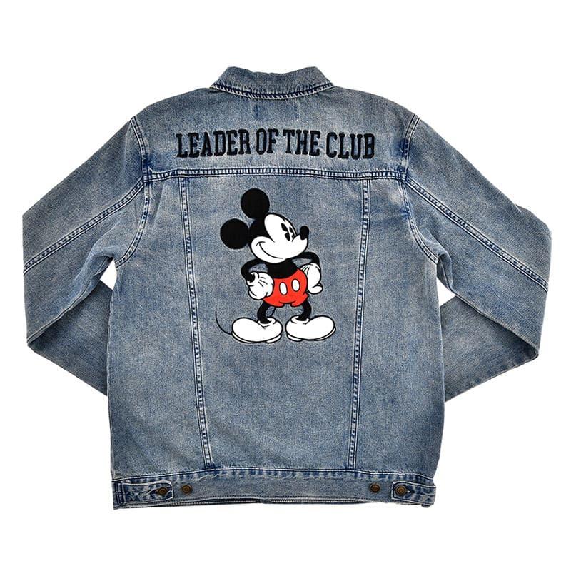 ミッキー デニムジャケット(L) Mickey Mouse March
