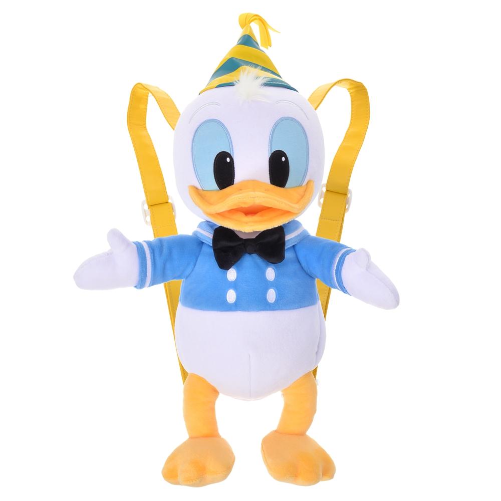 ドナルド リュックサック・バックパック ぬいぐるみ風 Donald Duck Birthday 2020