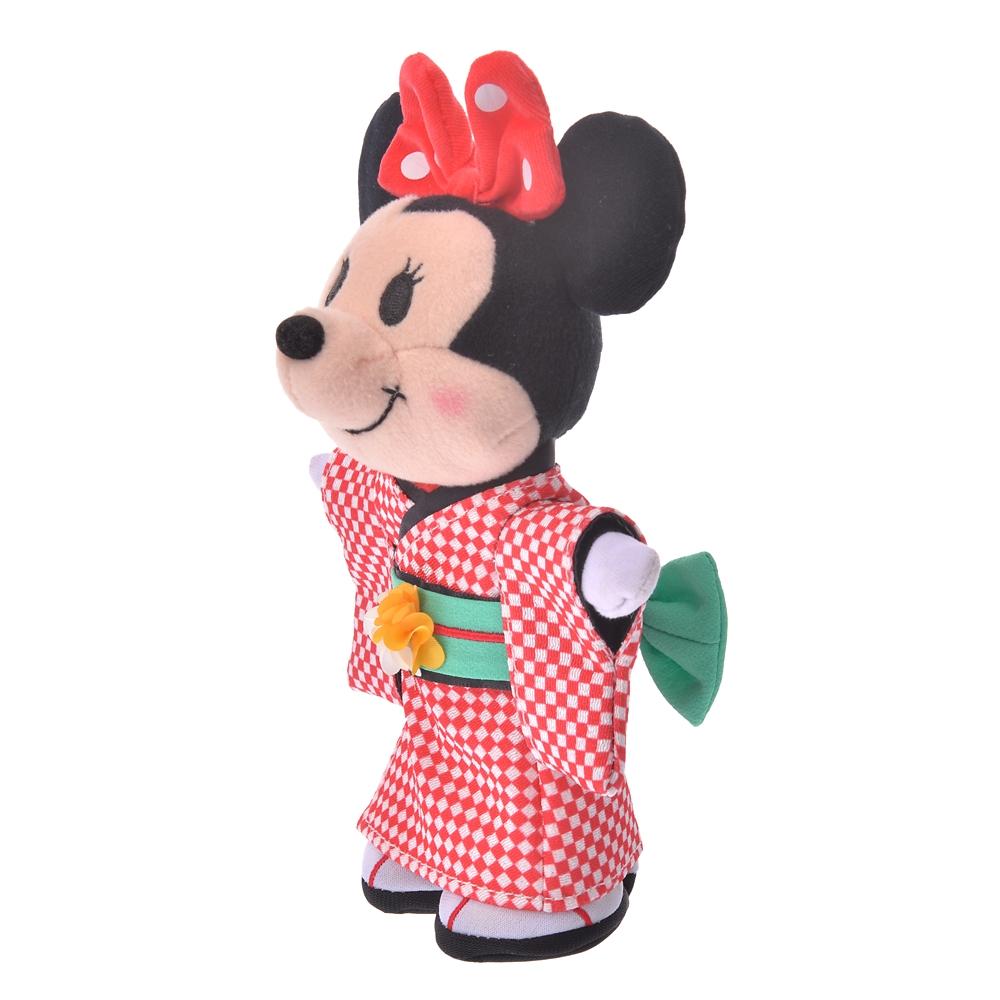 nuiMOs ぬいぐるみ専用コスチューム 着物 市松模様 ガール