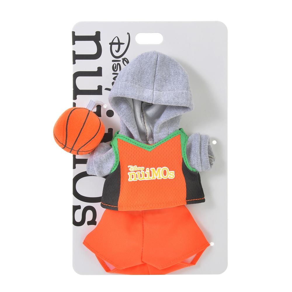 nuiMOs ぬいぐるみ専用コスチューム バスケットボールユニフォームセット オレンジ SPORTS