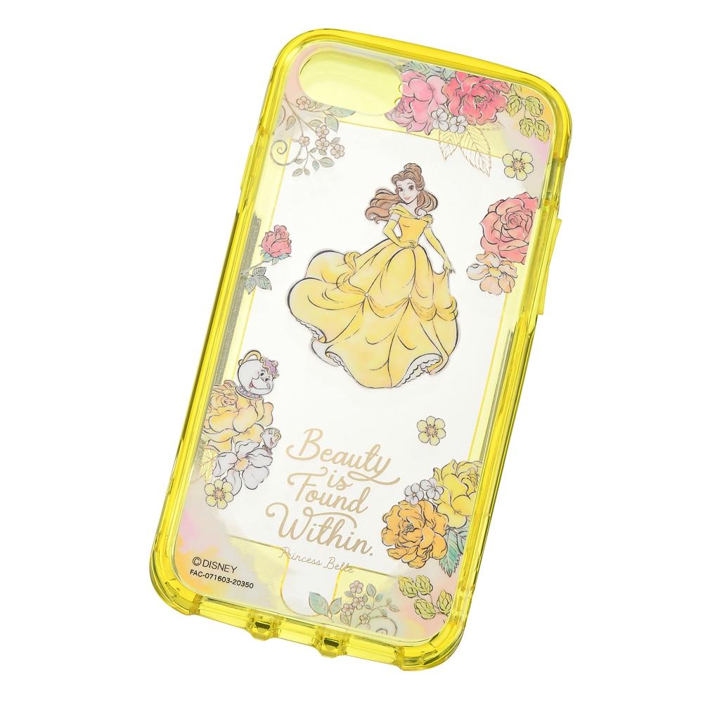 【IJOY】ベル&ポット夫人とチップ iPhone 6/6s/7/8/SE(第2世代)用スマホケース・カバー CLEAR プリンセスダンス
