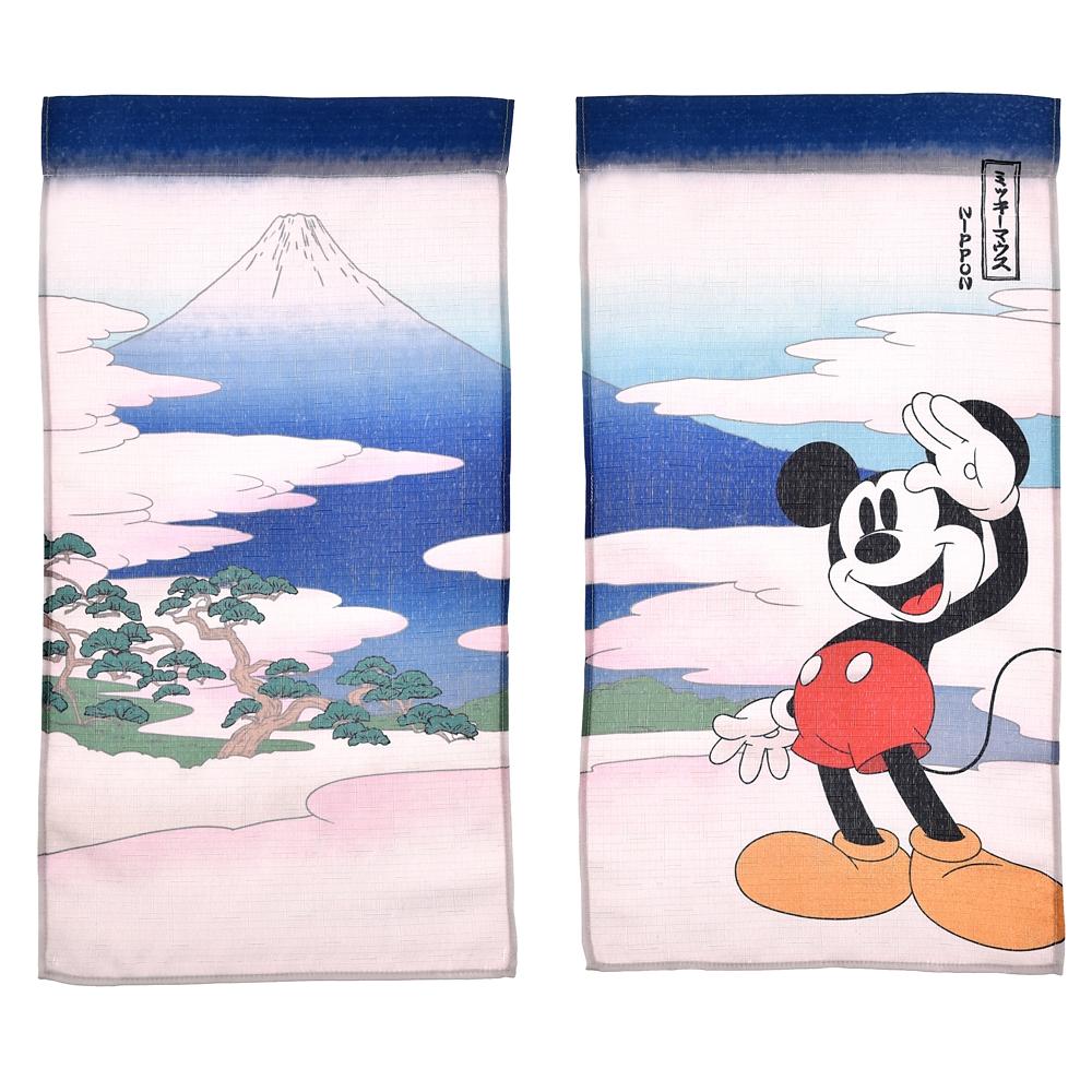 ミッキー のれん Ukiyoe Japan