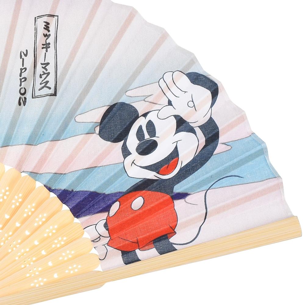 ミッキー 扇子 Ukiyoe Japan