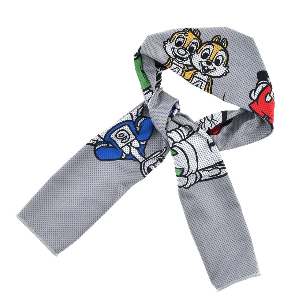 【アウトレット】ミッキー&フレンズ クールタオル UV Cut Mickeys Athlete Club
