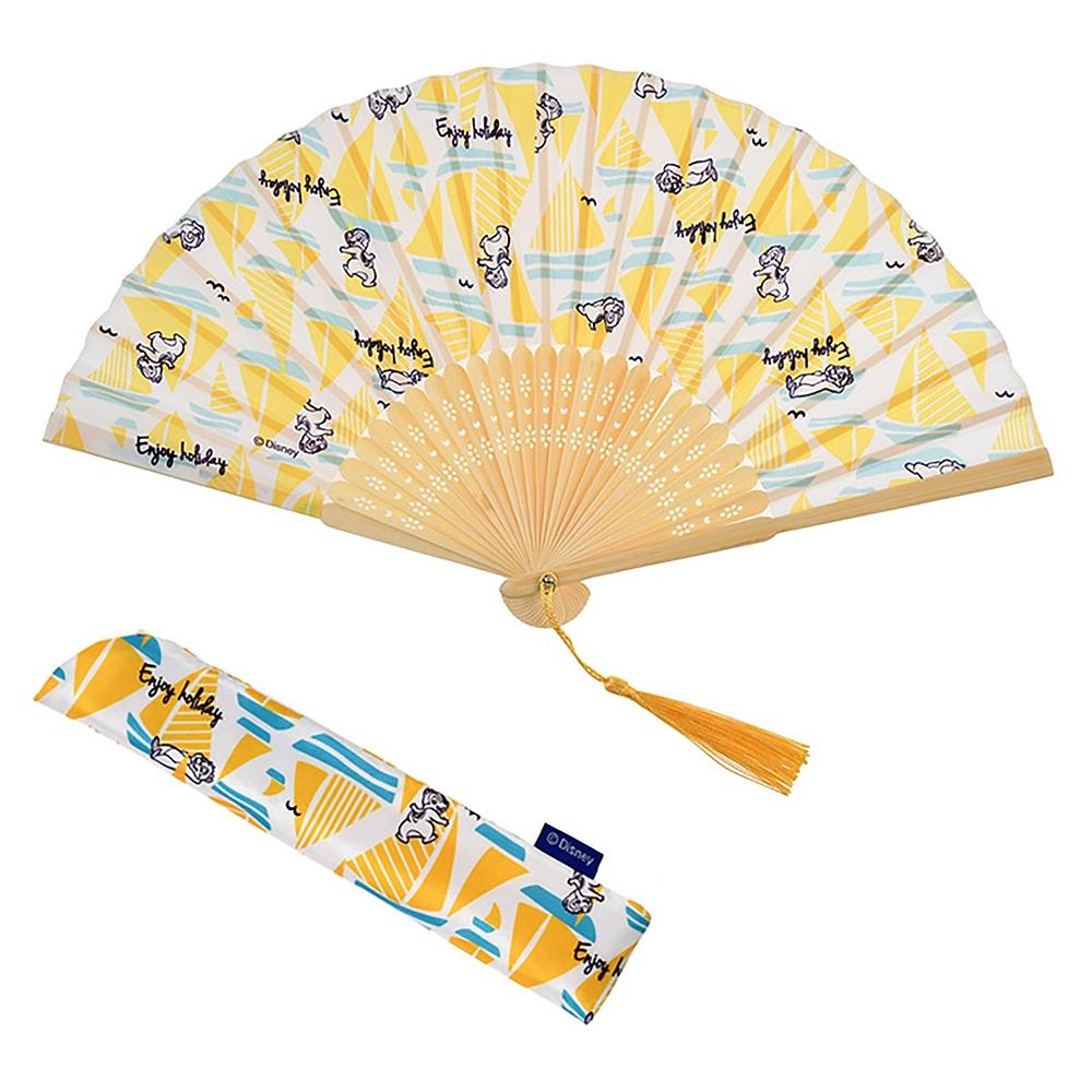 チップ&デール 扇子 Enjoy Summer