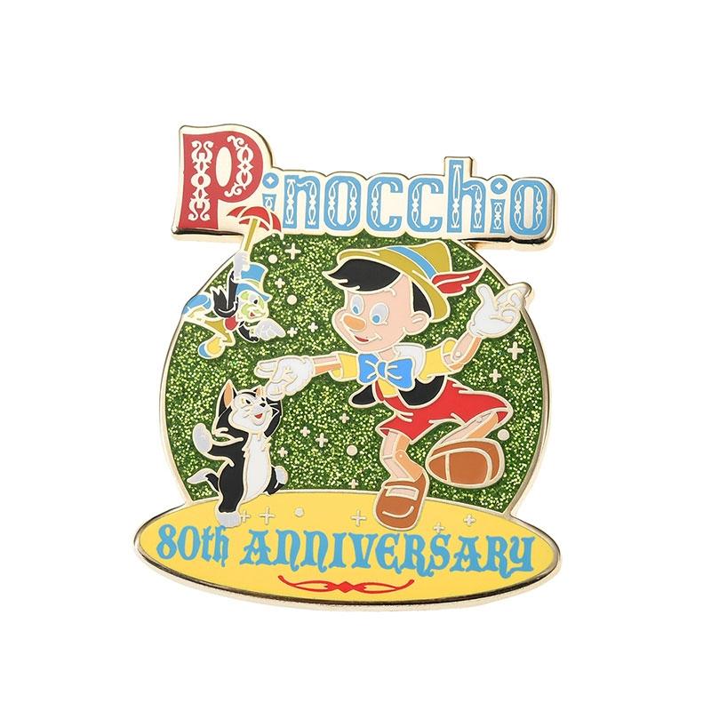 ピノキオ、ジミニー・クリケット、フィガロ ピンバッジ レガシー
