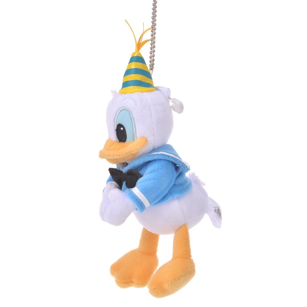 ドナルド ぬいぐるみキーホルダー・キーチェーン Donald Duck Birthday 2020