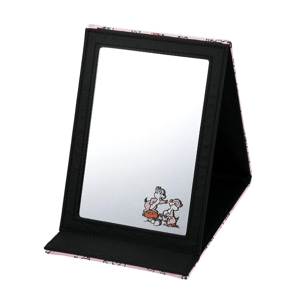 チップ&デール ミラー・鏡 折りたたみ式 レトロ