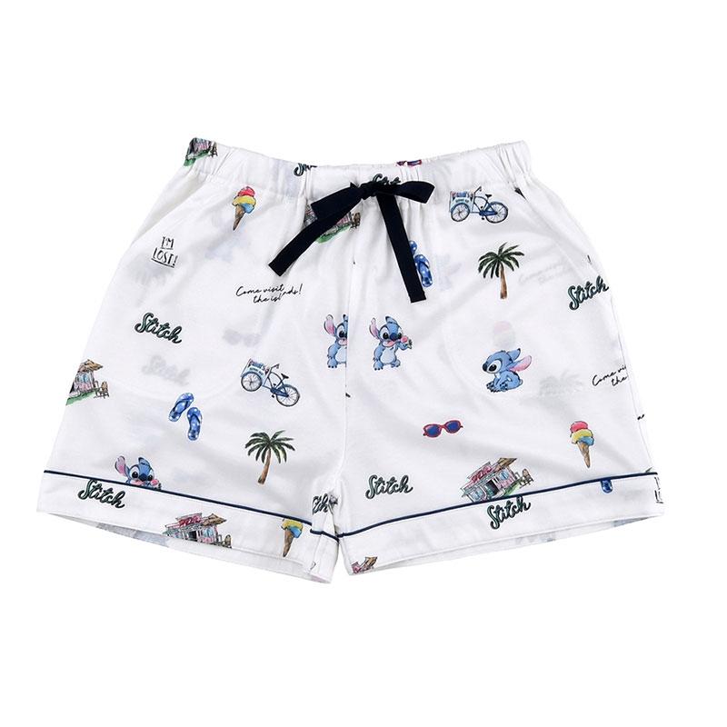 スティッチ 半袖パジャマ(L) サマーホリデー