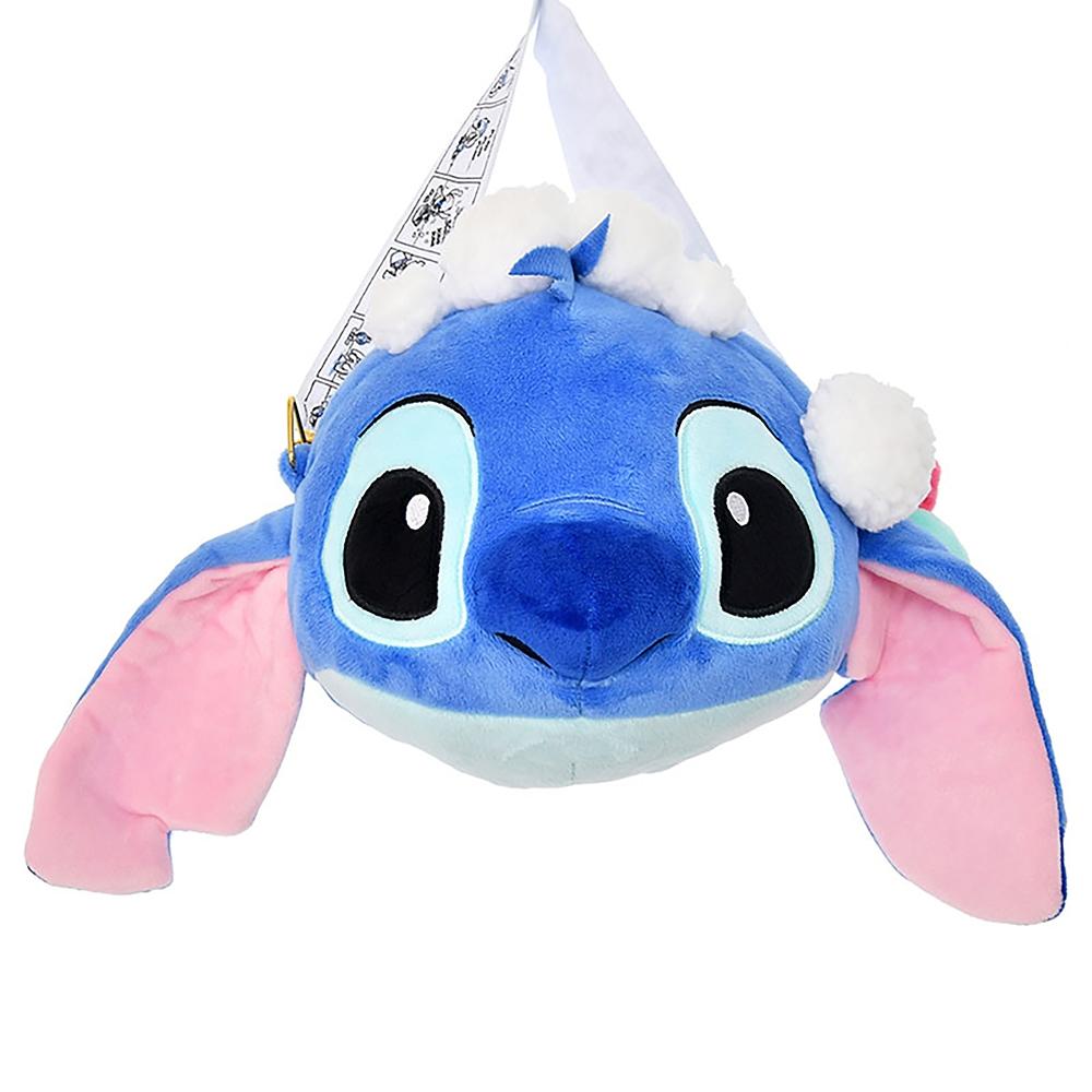 スティッチ&スクランプ ショルダーバッグ ぬいぐるみ風 Stitch Day 2020