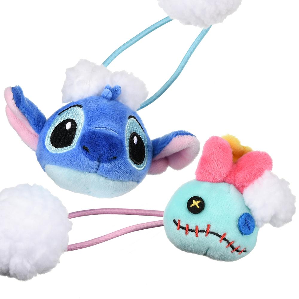スティッチ&スクランプ ヘアポニー ぬいぐるみ風 Stitch Day 2020