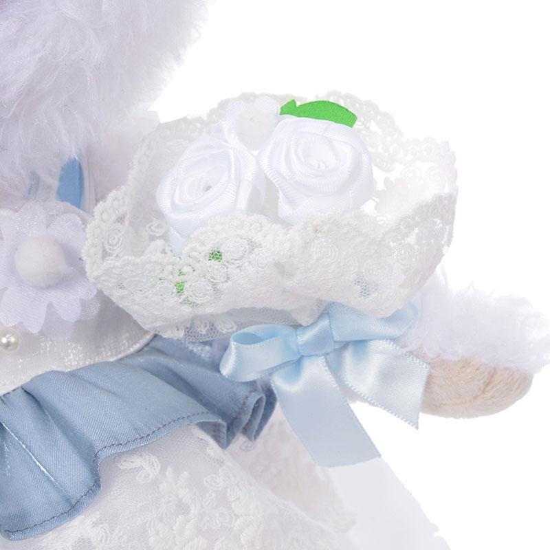【送料無料】ユニベアシティ ぬいぐるみ専用コスチューム ドレス ウェディング