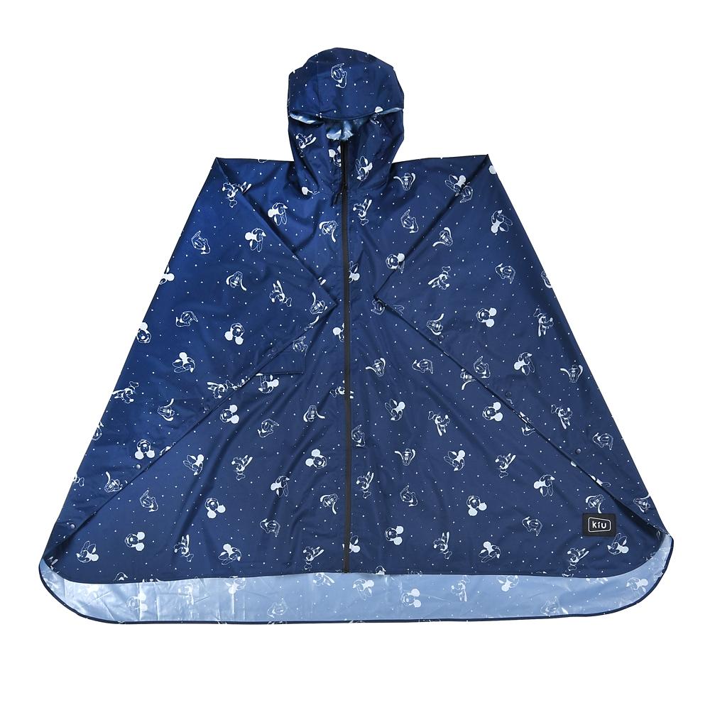 【KiU】ミッキー&フレンズ レインポンチョ Rainy Day 2020