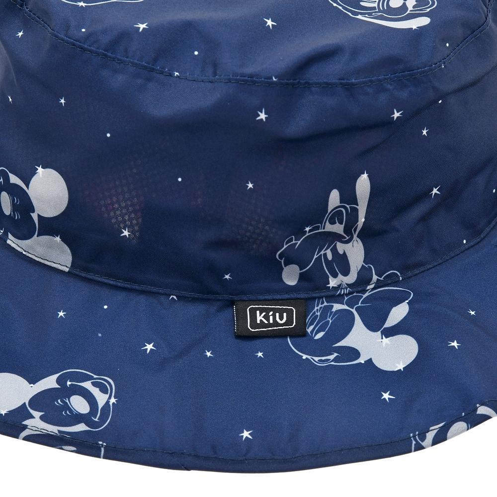 【KiU】ミッキー&フレンズ 帽子・ハット 折りたたみ式 Rainy Day 2020