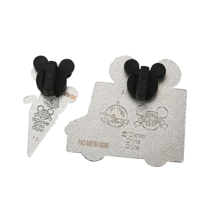 ミッキー&ミニー ピンバッジ セット アイスクリームトラック Disney Eats