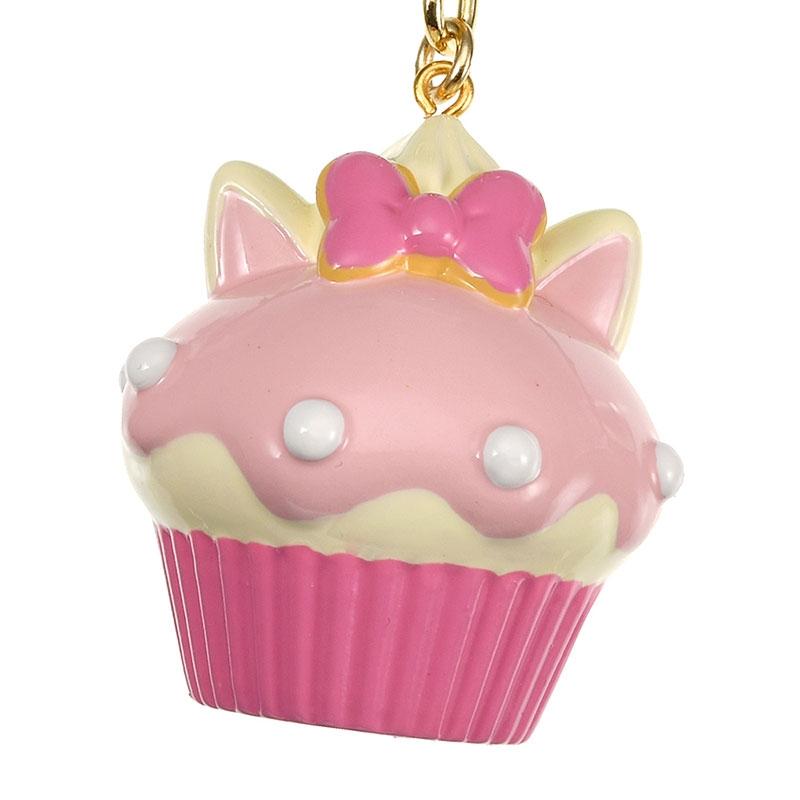 マリー おしゃれキャット キーホルダー・キーチェーン カップケーキ