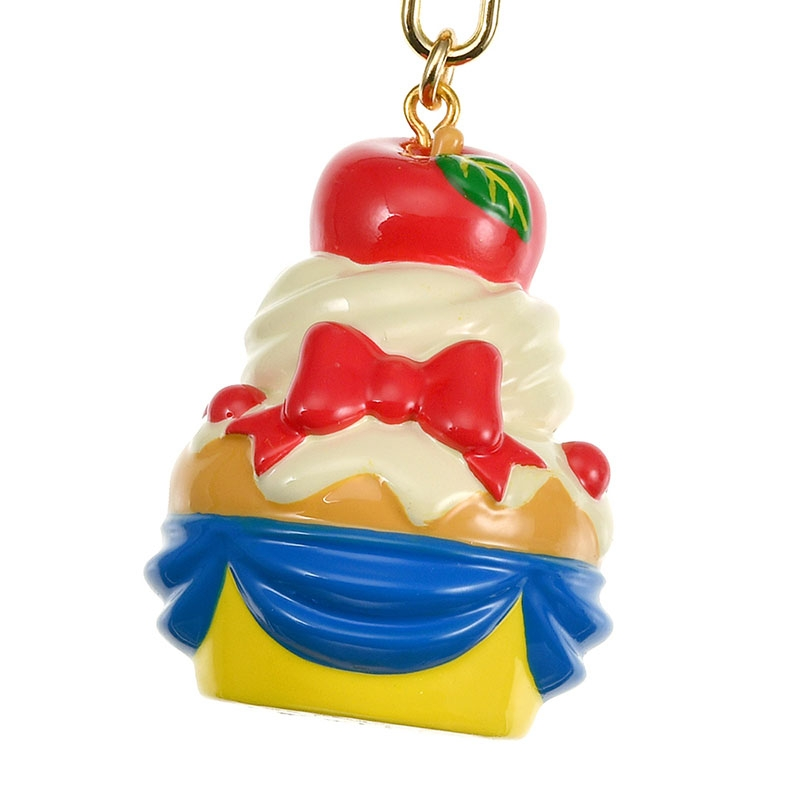 白雪姫 キーホルダー・キーチェーン カップケーキ