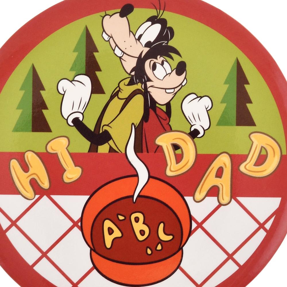 グーフィー&マックス 缶バッジ HI DAD SOUP We love Goofy 2020