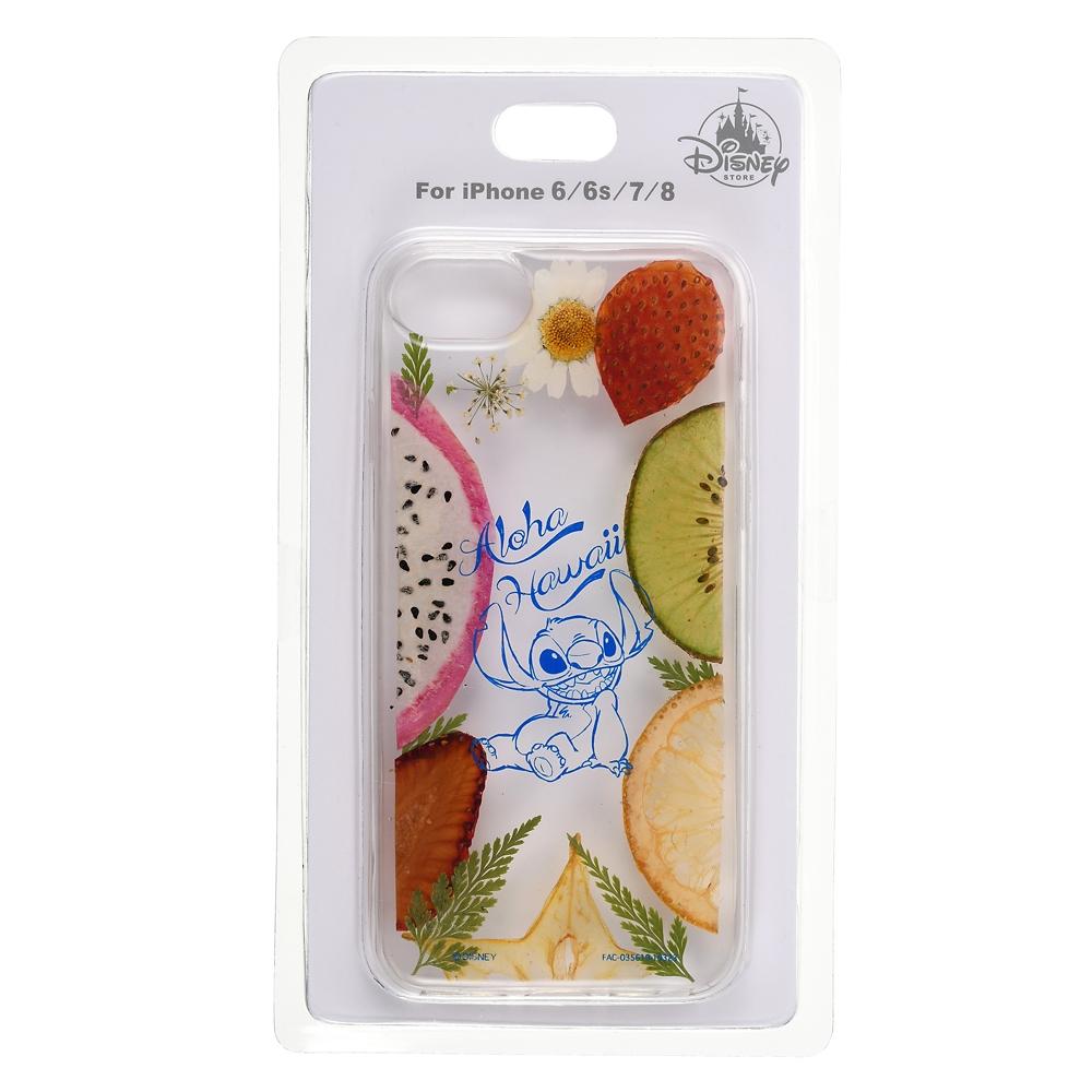 スティッチ iPhone 6/6s/7/8用スマホケース・カバー ドライフルーツ