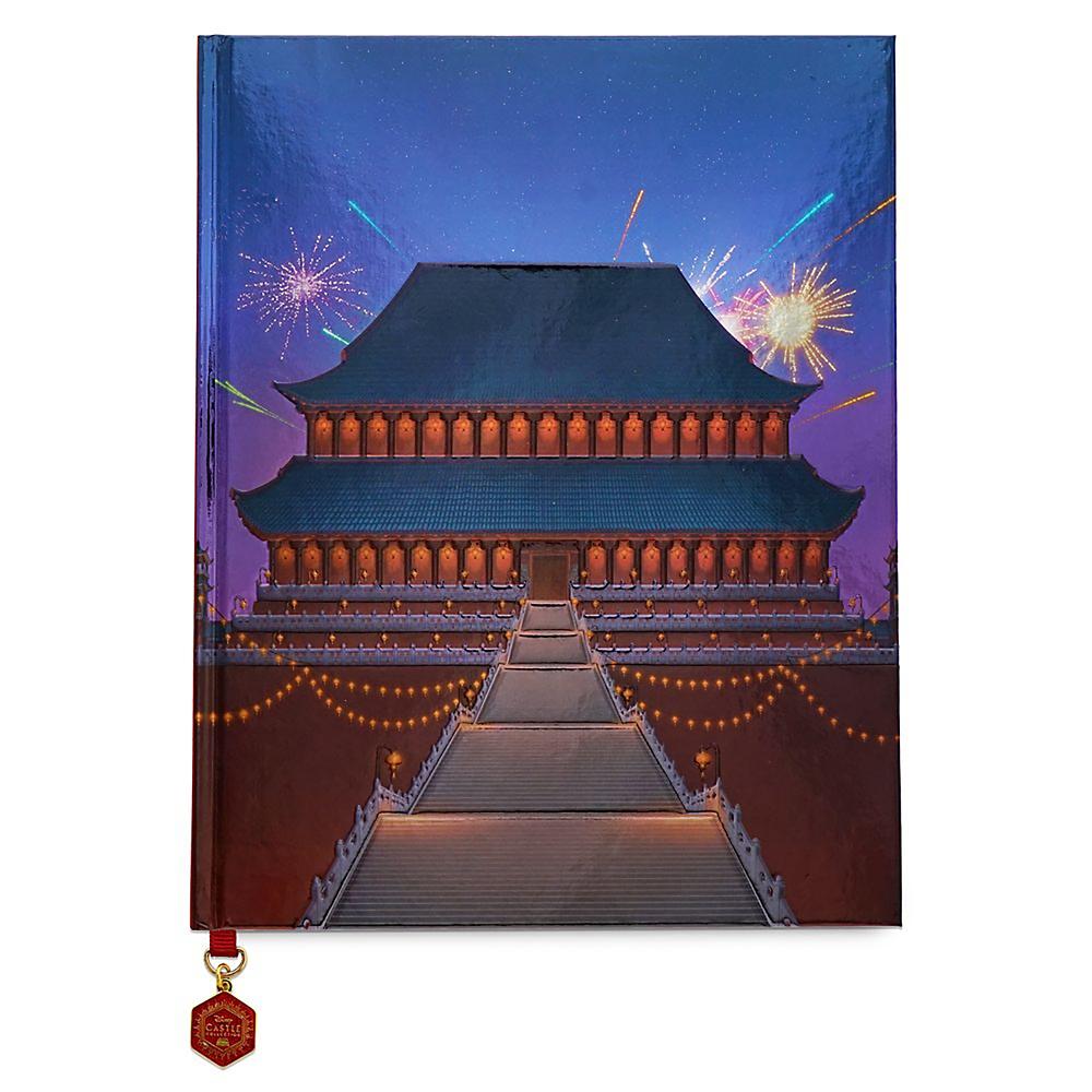 ムーラン ノートブック ポスター付き 王宮 Disney Castle Collection