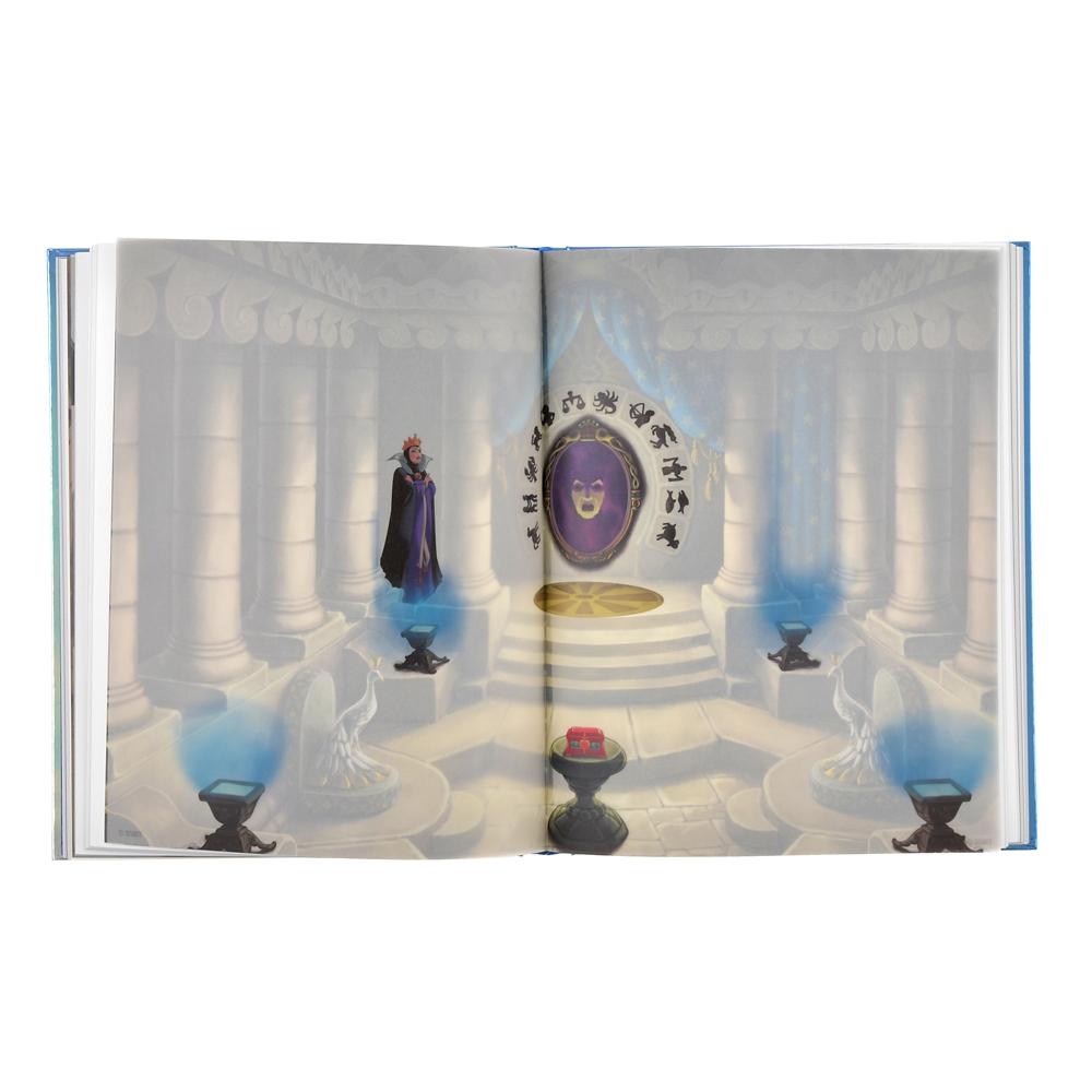 白雪姫 ノートブック ポスター付き 城 Disney Castle Collection