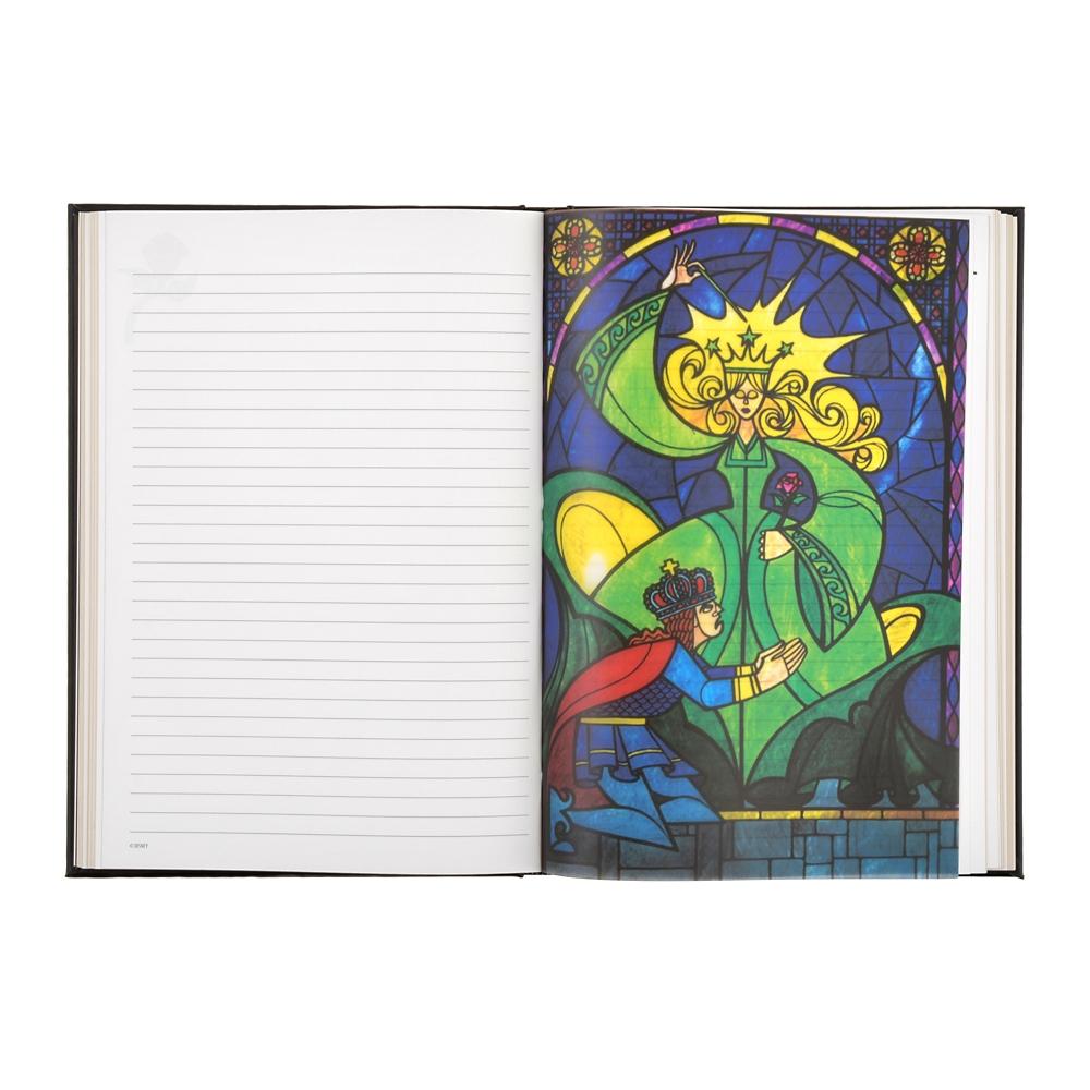 美女と野獣 ノートブック Stained Glass Window