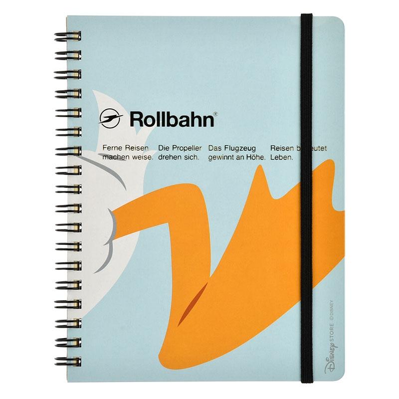 【デルフォニックス】ドナルド Rollbahn ポケット付メモ Close-up