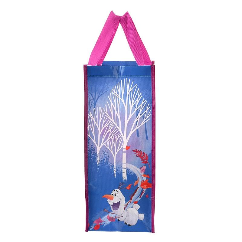 アナと雪の女王 ショッピングバッグ・エコバッグ パープル アナと雪の女王2