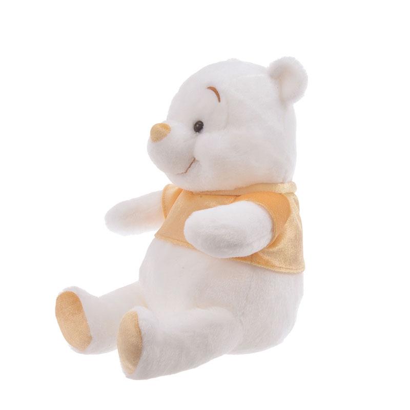 プーさん ぬいぐるみ White Pooh ゴールド