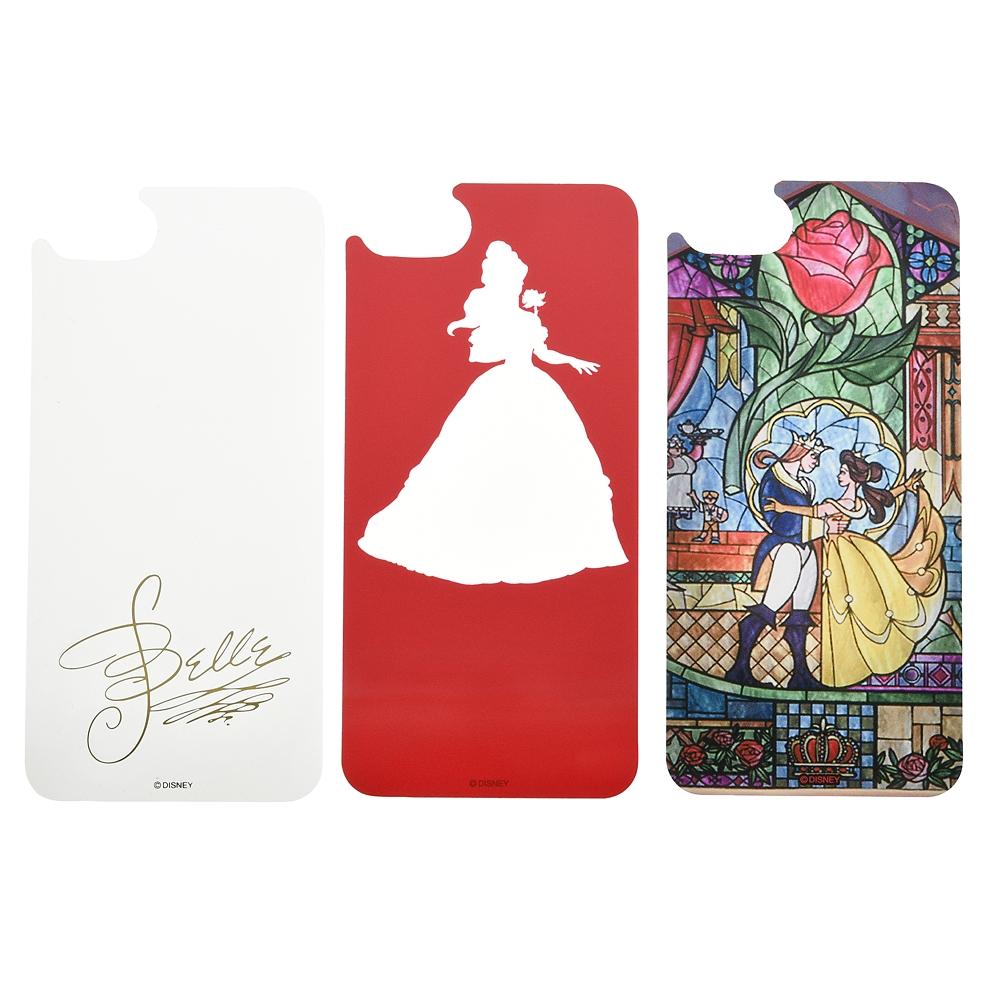 美女と野獣 着せ替えシート iPhone 6/6s/7/8用 D.I.Wow!