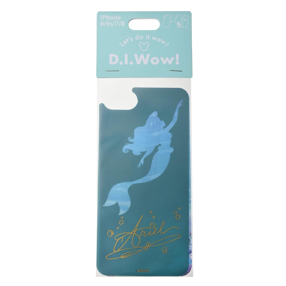 【アウトレット】アリエル、フランダー、セバスチャン 着せ替えシート iPhone 6/6s/7/8用 D.I.Wow!