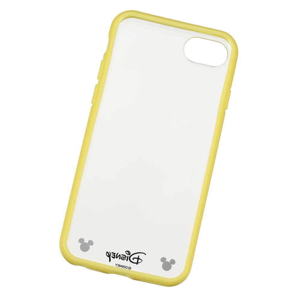 【アウトレット】ミッキー iPhone 6/6s/7/8用スマホケース・カバー ソフトイエロー D.I.Wow!