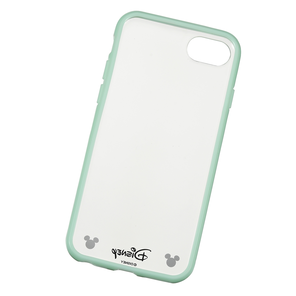 ミッキー iPhone 6/6s/7/8用スマホケース・カバー ソフトグリーン D.I.Wow!