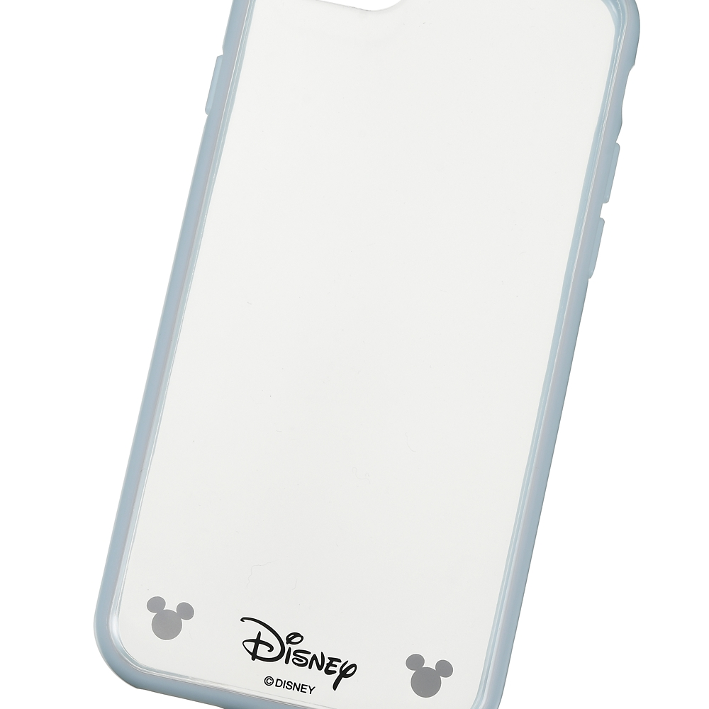 ミッキー iPhone 6/6s/7/8用スマホケース・カバー ソフトブルー D.I.Wow!