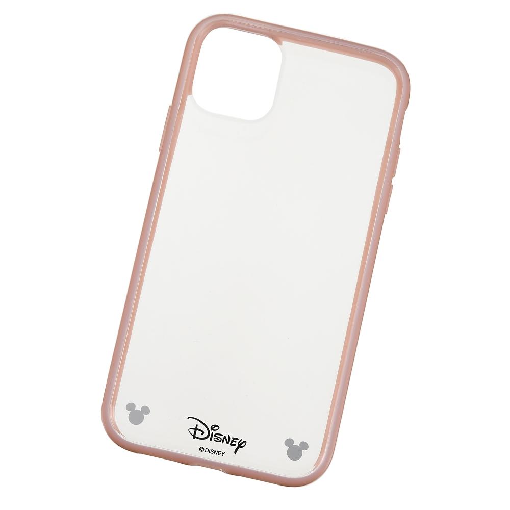 ミッキー iPhone 11用スマホケース・カバー ソフトピンク D.I.Wow!