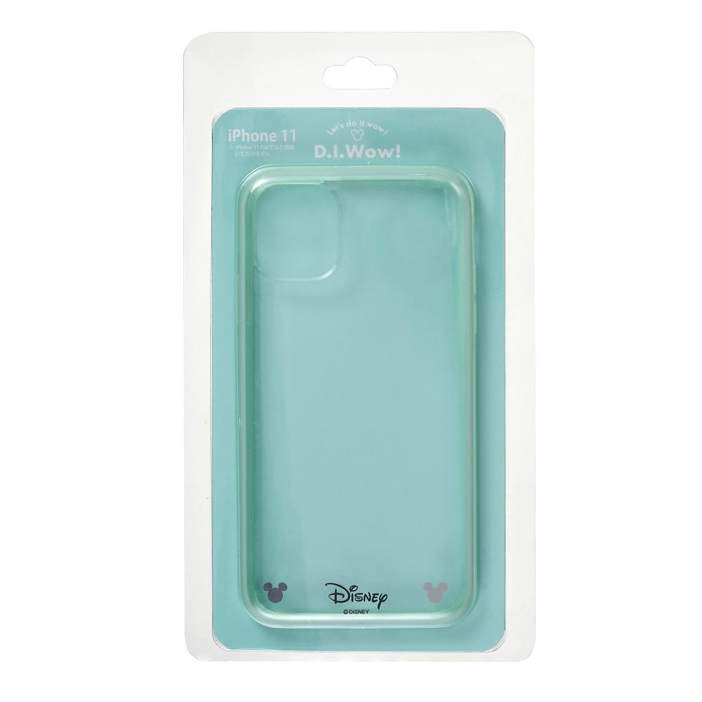 【アウトレット】ミッキー iPhone 11用スマホケース・カバー ソフトグリーン D.I.Wow!