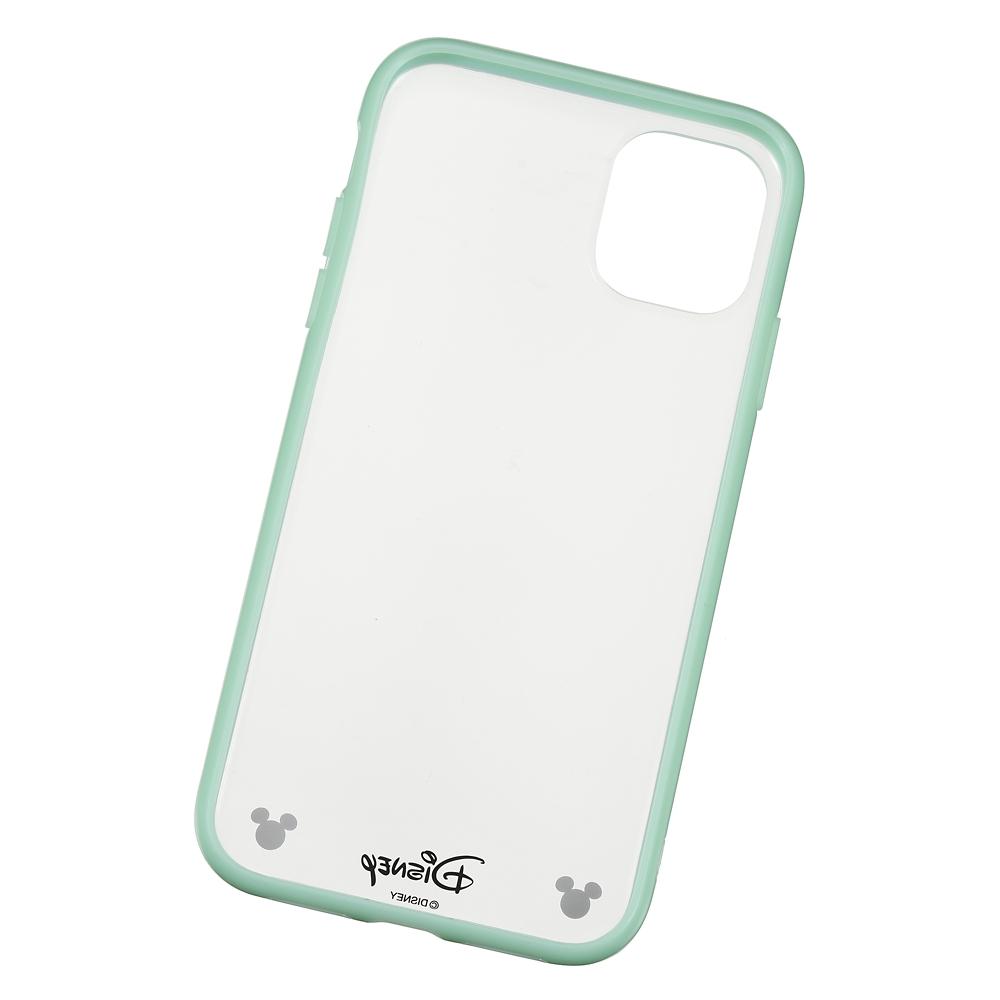 ミッキー iPhone 11用スマホケース・カバー ソフトグリーン D.I.Wow!