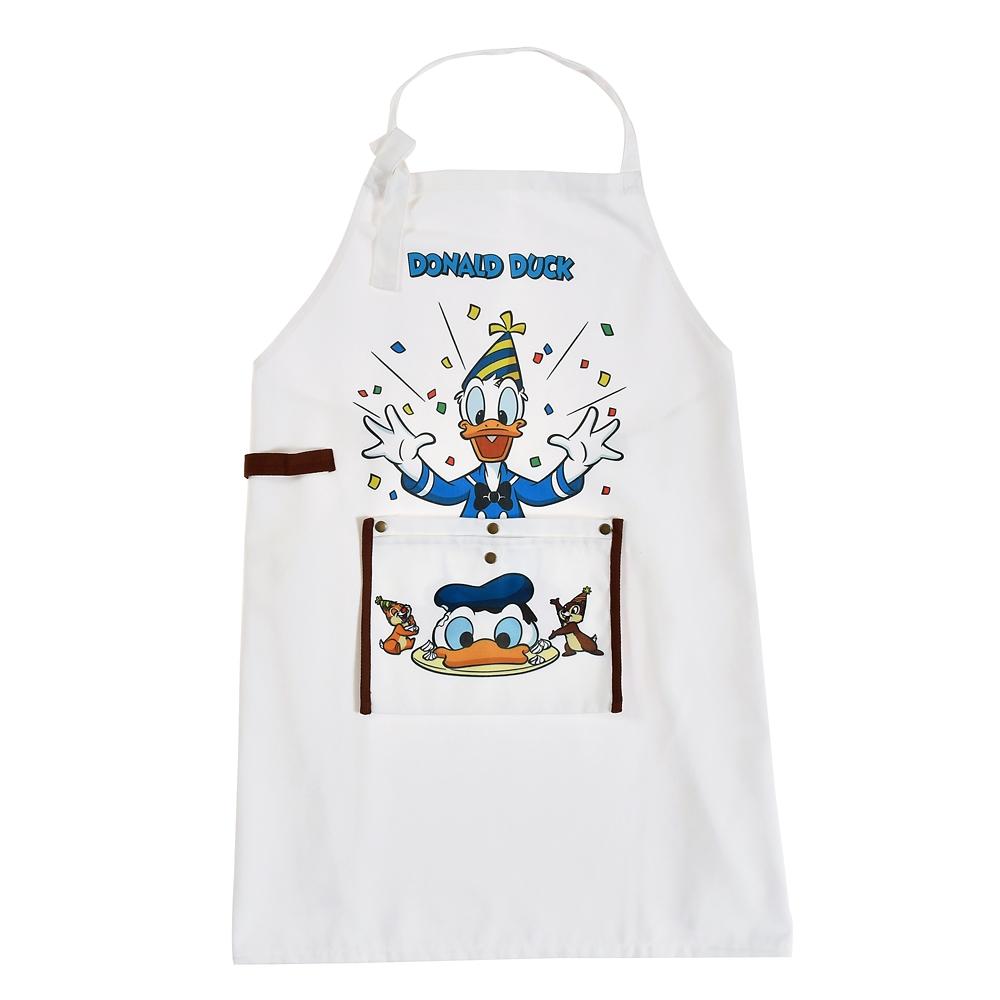 ドナルド、チップ&デール エプロン Donald Duck Birthday 2020
