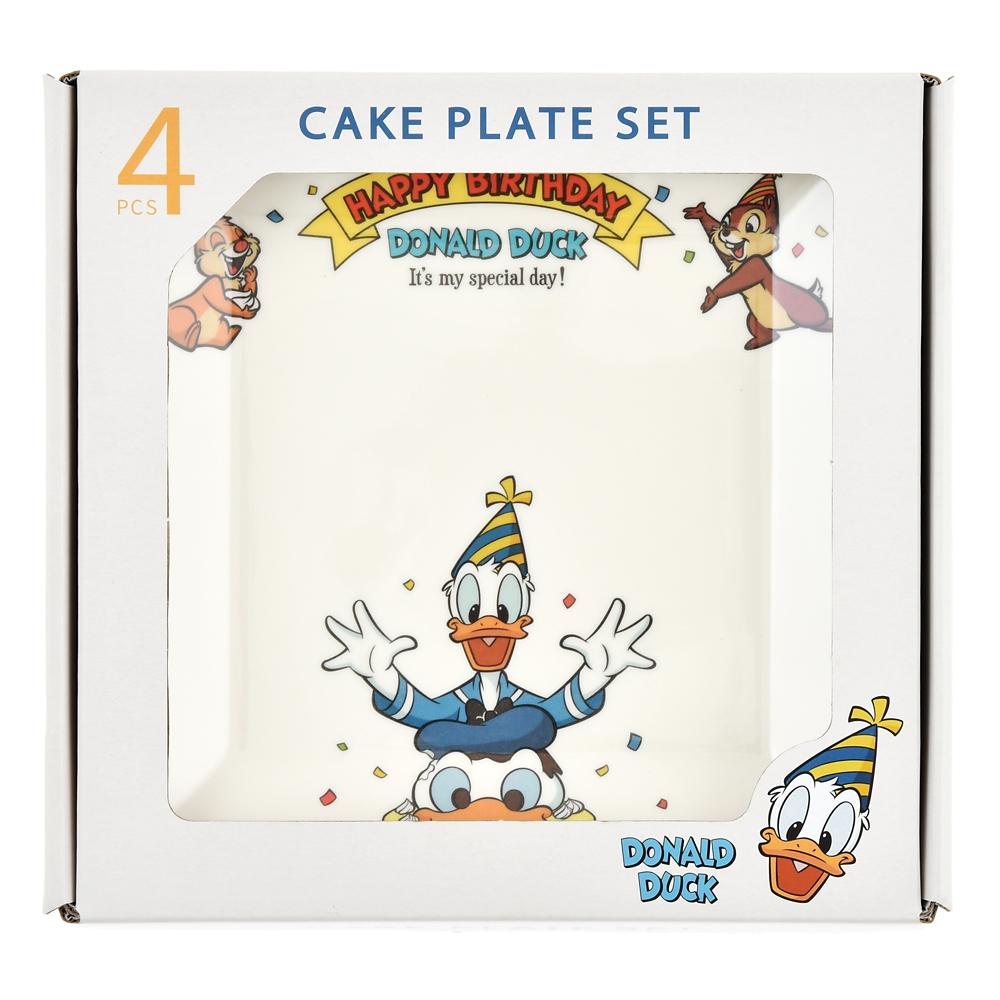 ドナルド、チップ&デール プレート Donald Duck Birthday 2020