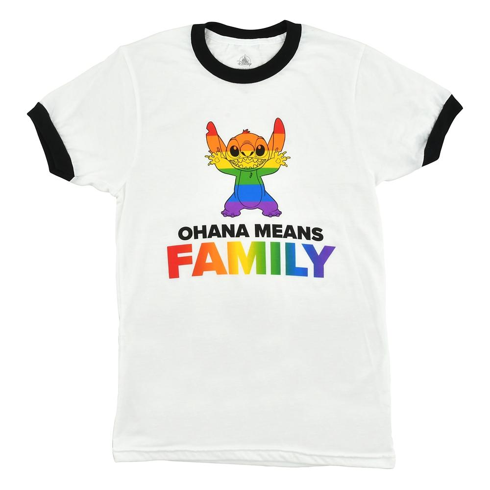 スティッチ 半袖Tシャツ The Walt Disney Company's Pride collection