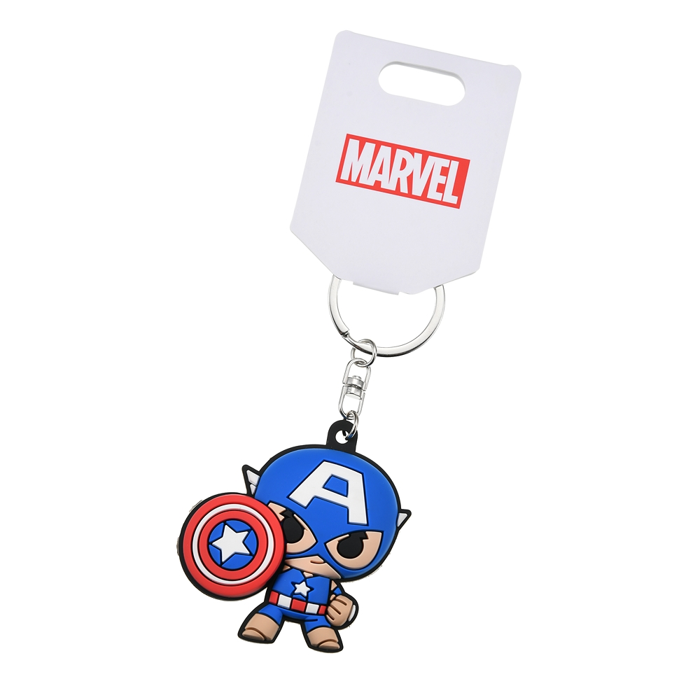 マーベル キャプテン・アメリカ キーホルダー・キーチェーン Mini Heros