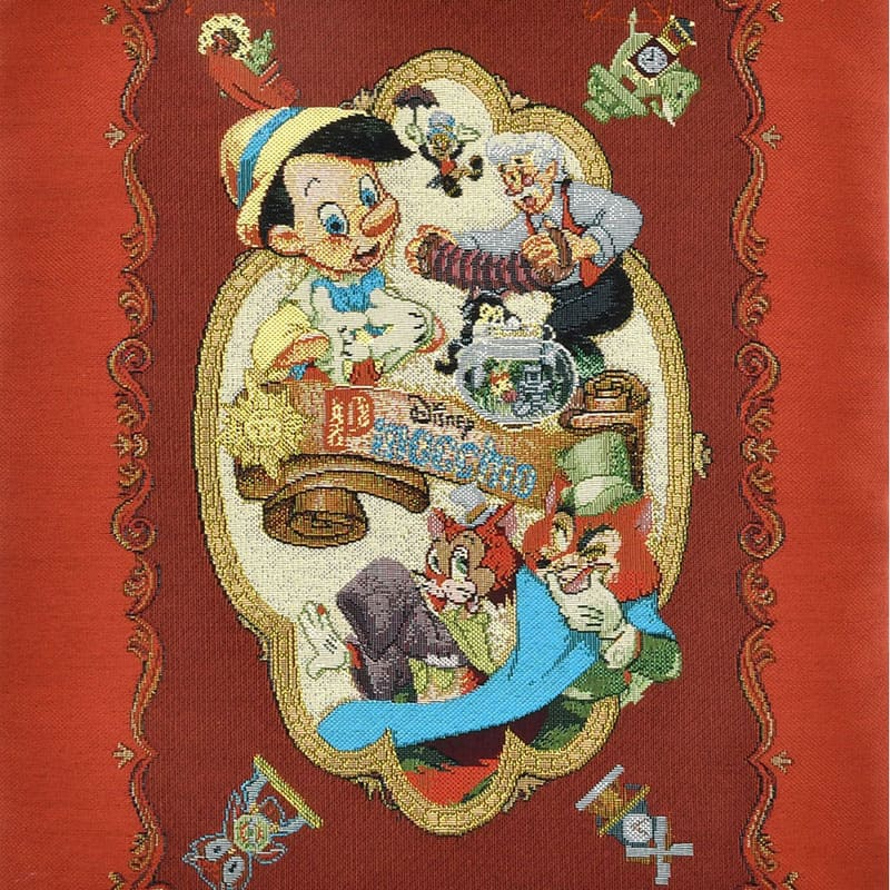 ピノキオ トートバッグ Pinocchio 80th