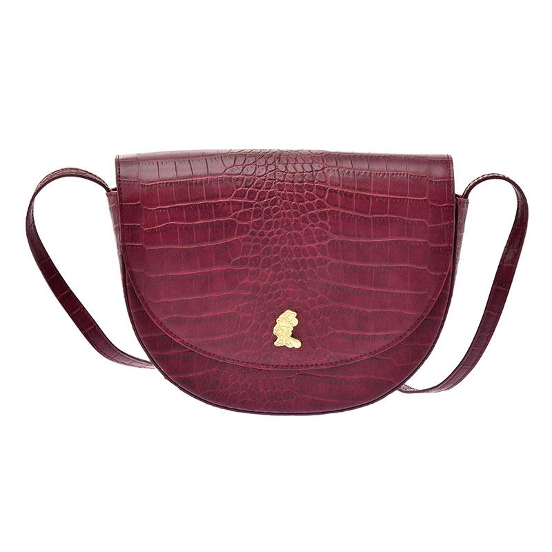 ミニー ショルダーバッグ クロコ調 Shoulder&Body Bag