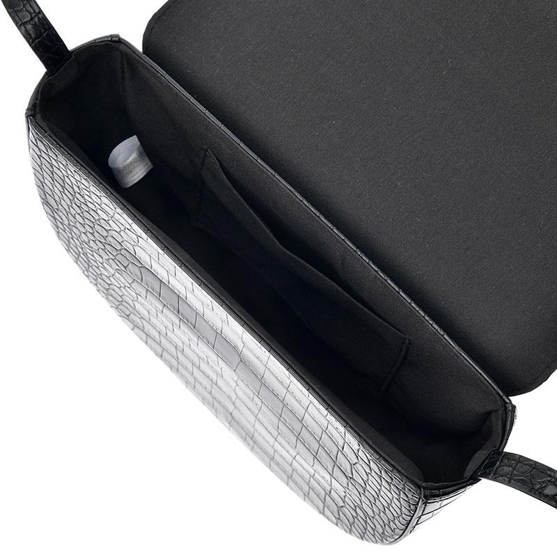 ミッキー ショルダーバッグ クロコ調 Shoulder&Body Bag